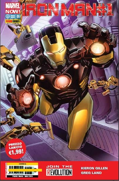 IRON MAN 1 / MARVEL NOW - COVER A
