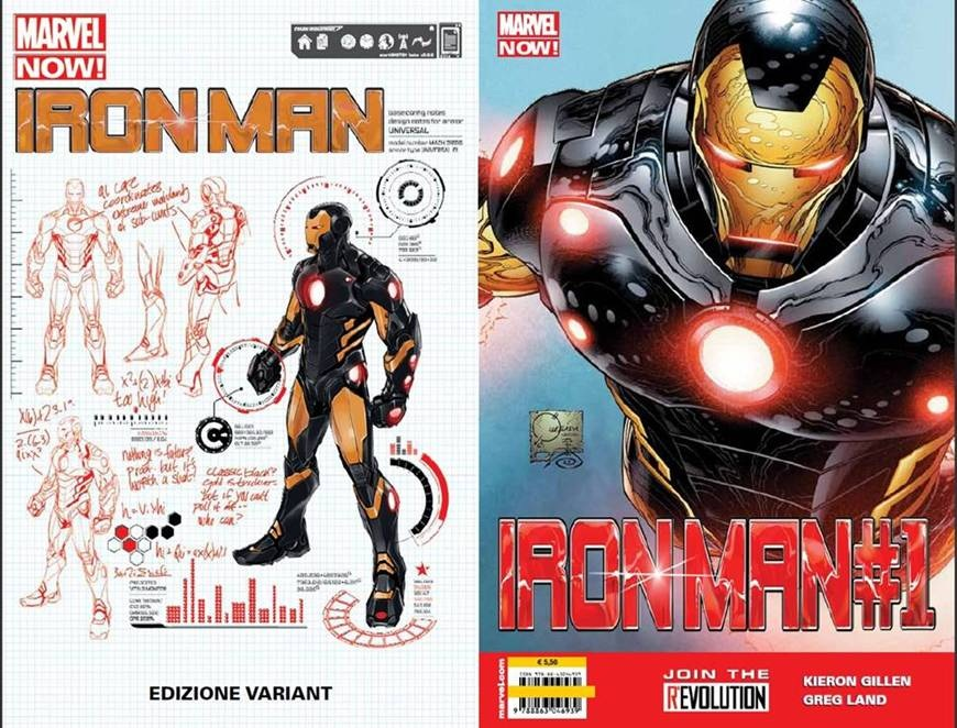 IRON MAN 1 / MARVEL NOW - COVER VARIANT