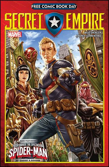 secret empire free comics book bay