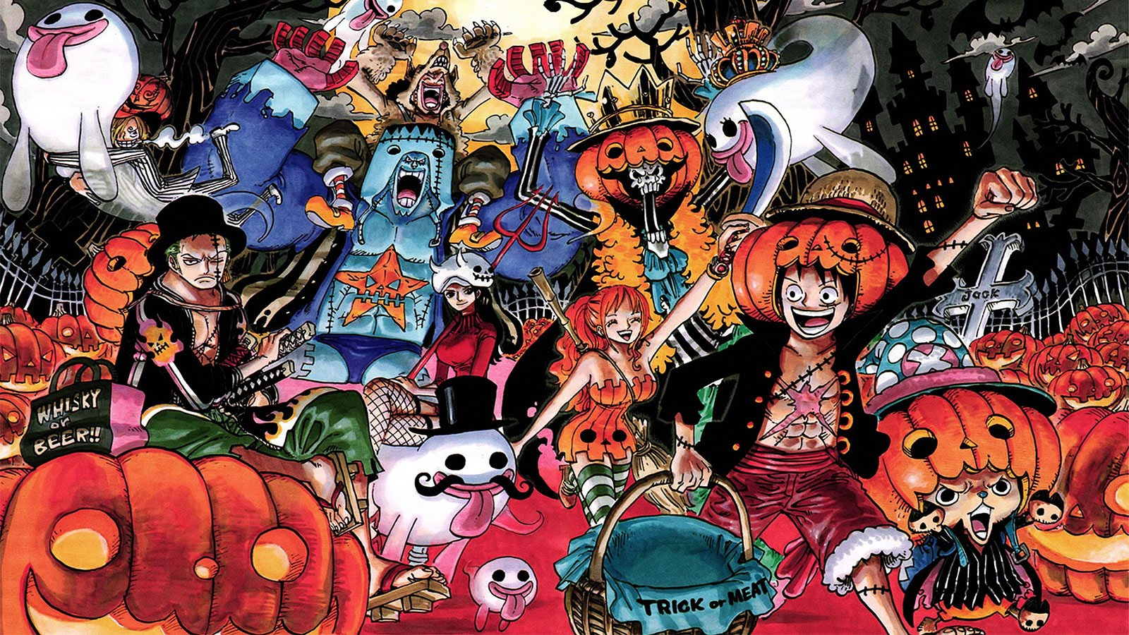 halloween one piece