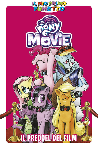 primo fumetto little pony film