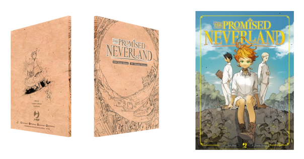 promised neverland notebook